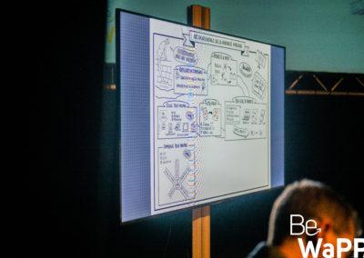 PictoBello.com et BeWapp - Sketchnoting live à Wavre - 10-2019